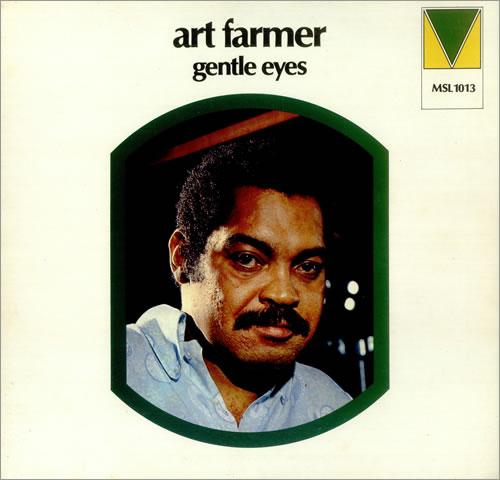 Art Farmer Gentle Eyes vinyl LP album (LP record) UK AFMLPGE445898