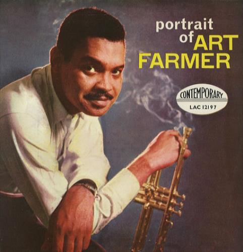Art Farmer Portrait Of vinyl LP album (LP record) UK AFMLPPO443770