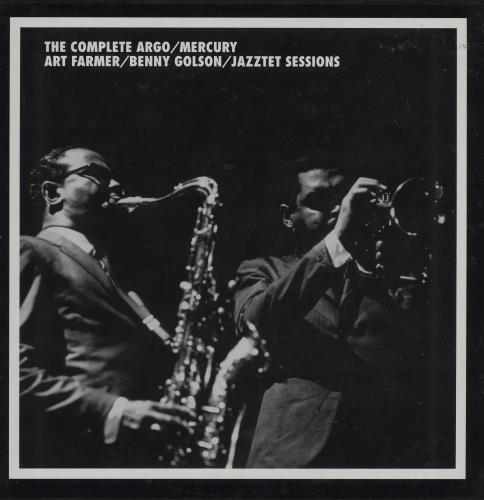 Art Farmer The Complete Argo / Mercury Art Farmer / Benny Golson / Jazztet Sessions 7-CD album set US AFM7CTH754550
