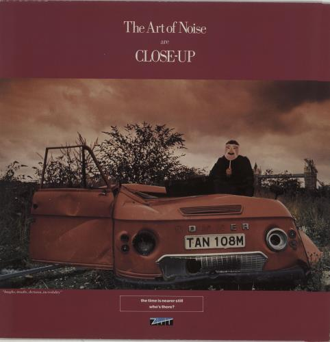 """Art Of Noise Closely Closely - Picture sleeve 12"""" vinyl single (12 inch record / Maxi-single) UK AON12CL165195"""