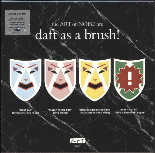 Art Of Noise Daft As A Brush - RSD19 - 180gram Vinyl - Sealed Vinyl Box Set UK AONVXDA718490