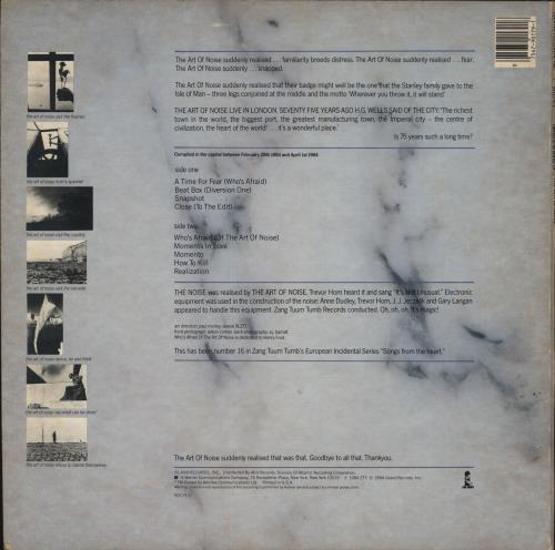 Art Of Noise Whos Afraid Of Us Vinyl Lp Album Lp Record 697719