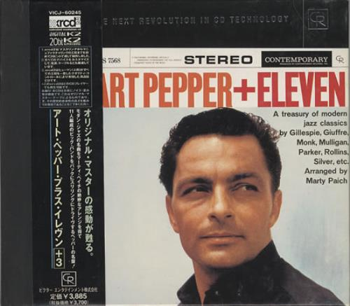 Art Pepper Modern Jazz Classics CD album (CDLP) Japanese A/PCDMO365023