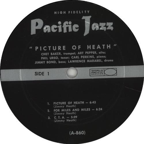 Art Pepper Picture Of Heath vinyl LP album (LP record) US A/PLPPI667120