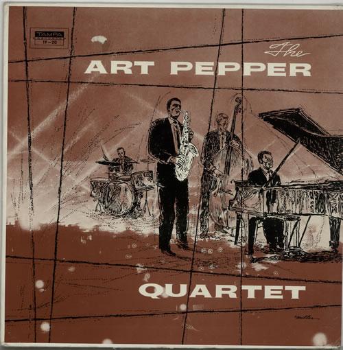 Art Pepper The Art Pepper Quartet - 2nd vinyl LP album (LP record) US A/PLPTH633705