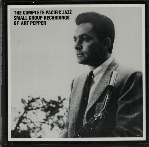 Art Pepper The Complete Pacific Jazz Small Group Recordings Of Art Pepper Vinyl Box Set US A/PVXTH647600