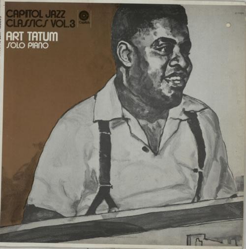 Art Tatum Solo Piano vinyl LP album (LP record) US AT4LPSO586060