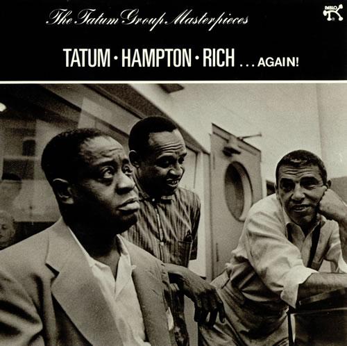 Art Tatum The Tatum Group Masterpieces - Hampton, Rich... Again! vinyl LP album (LP record) UK AT4LPTH493655