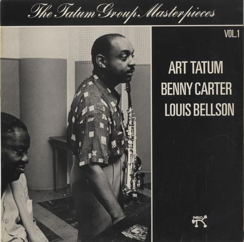 Art Tatum The Tatum Group Masterpieces - Tatum, Carter & Bellson Vol 1 vinyl LP album (LP record) UK AT4LPTH469875
