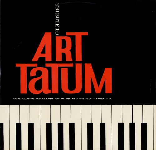 Art Tatum Tribute To Art Tatum vinyl LP album (LP record) UK AT4LPTR560994