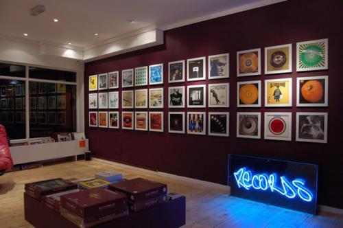 Art Vinyl/Artvinyl Play & Display Album Flip Frame Black Play ...