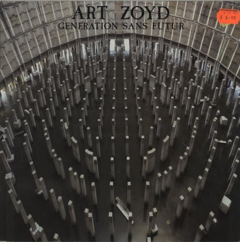 Art Zoyd Generation Sans Futur vinyl LP album (LP record) French QR6LPGE687199
