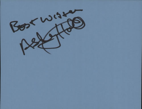 Ashley Holt Page From An Autograph Book memorabilia UK F1KMMPA608907