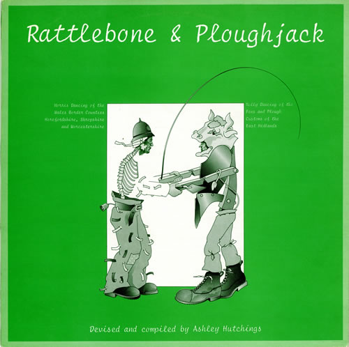 Ashley Hutchings Rattlebone & Ploughjack vinyl LP album (LP record) UK AJ3LPRA475804