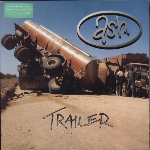 "Ash Trailer + Bonus 7"" vinyl LP album (LP record) UK A-SLPTR214764"