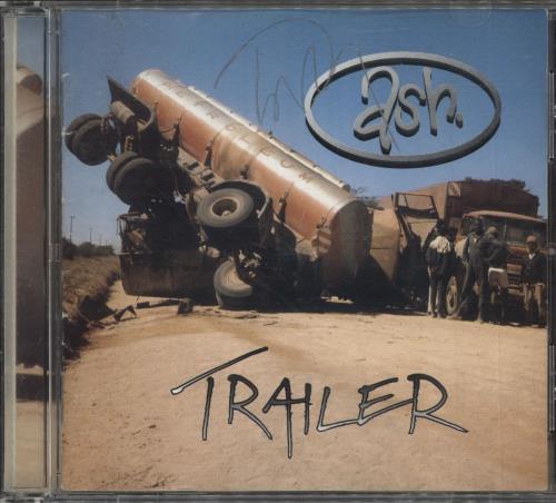 Ash Trailer - Autographed CD album (CDLP) UK A-SCDTR717238