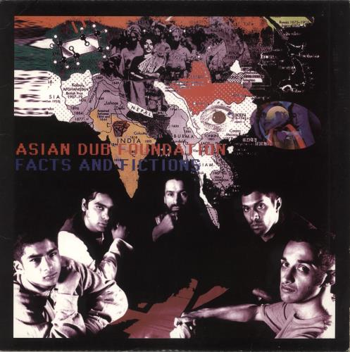 Asian Dub Foundation Facts And Fictions 2-LP vinyl record set (Double Album) UK UBF2LFA714549