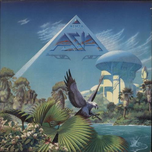Asia Alpha vinyl LP album (LP record) US ASILPAL757502