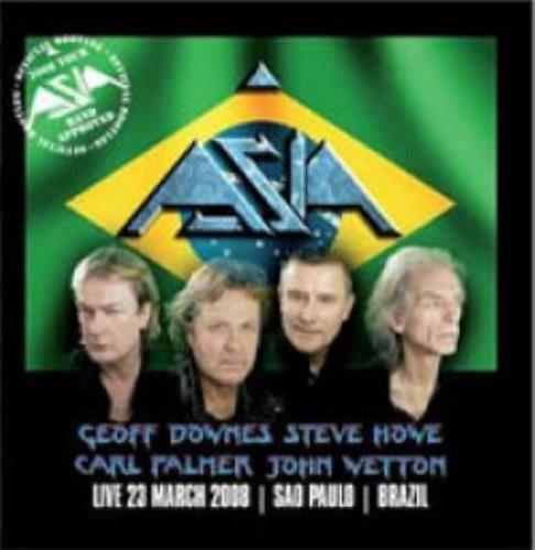 Asia Live in Sao Paolo, 23rd March 2008 2 CD album set (Double CD) UK ASI2CLI463913