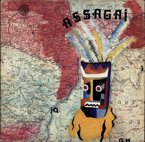 Assagai Assagai - Ex vinyl LP album (LP record) UK AQ7LPAS691977