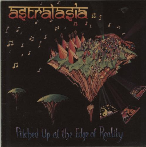 """Astralasia Pitched Up At The Edge Of Reality 12"""" vinyl single (12 inch record / Maxi-single) UK IAT12PI654195"""