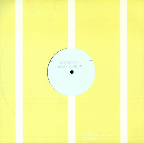 "Astra Wake Up - White Label 12"" vinyl single (12 inch record / Maxi-single) UK AY-12WA505750"