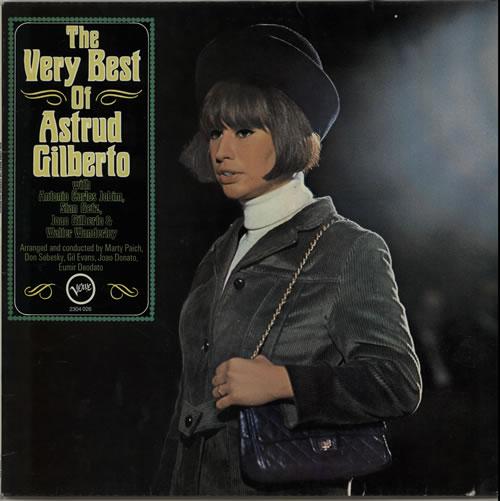 Astrud Gilberto The Very Best Of vinyl LP album (LP record) German AGBLPTH626127