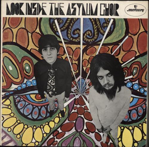 Asylum Choir Look Inside The Asylum Choir - Test Pressing vinyl LP album (LP record) UK ASYLPLO767127