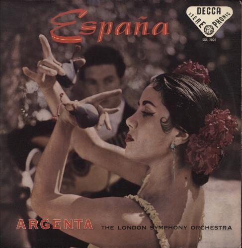 Ataúlfo Argenta España - WBg vinyl LP album (LP record) UK 23ALPES771678