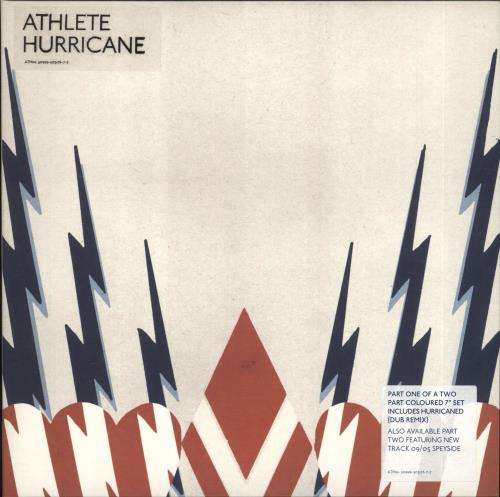 "Athlete Hurricane - Both 7""s 7"" vinyl single (7 inch record) UK ATE07HU725079"