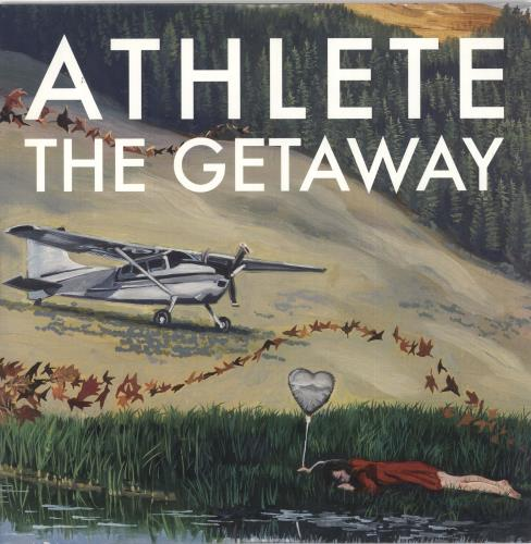 """Athlete The Getaway - Autographed 10"""" vinyl single (10"""" record) UK ATE10TH725172"""