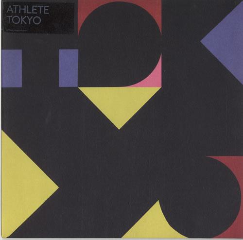 "Athlete Tokyo - Yellow Vinyl 7"" vinyl single (7 inch record) UK ATE07TO419956"