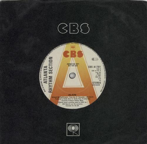"Atlanta Rhythm Section Alien 7"" vinyl single (7 inch record) UK AAY07AL607185"