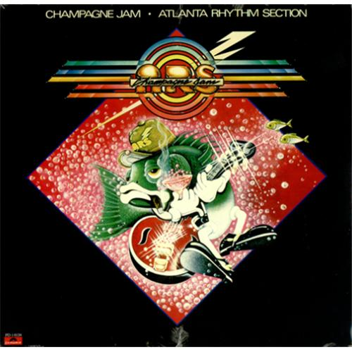 Atlanta Rhythm Section Champagne Jam Sealed Us Vinyl Lp