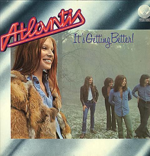 Atlantis It's Getting Better vinyl LP album (LP record) UK TLALPIT257634