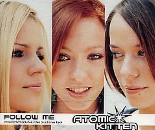 "Atomic Kitten Follow Me CD single (CD5 / 5"") UK AMKC5FO176519"