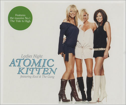 Atomic Kitten Ladies Night 2-CD single set (Double CD single) UK AMK2SLA266940