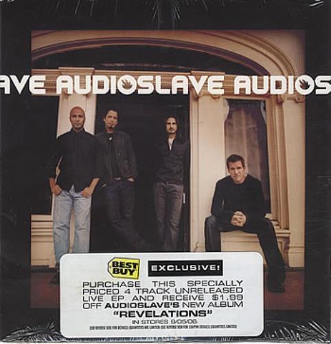 "Audioslave Live EP CD single (CD5 / 5"") US AUVC5LI384884"