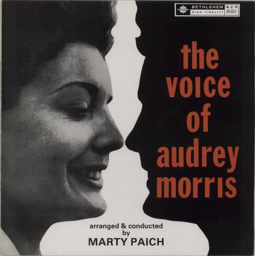 Audrey Morris The Voice Of Audrey Morris vinyl LP album (LP record) Spanish I-DLPTH678325