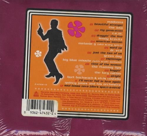 Austin Powers Austin Powers: The Spy Who Shagged Me - Sealed CD album (CDLP) US AUWCDAU209775