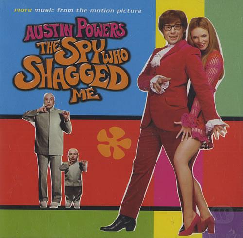 Austin Powers Austin Powers: The Spy Who Shagged Me CD album (CDLP) UK AUWCDAU440171