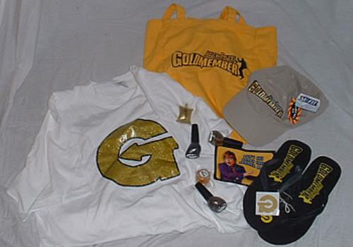 Austin Powers Goldmember Goodie Bag memorabilia US AUWMMGO224260