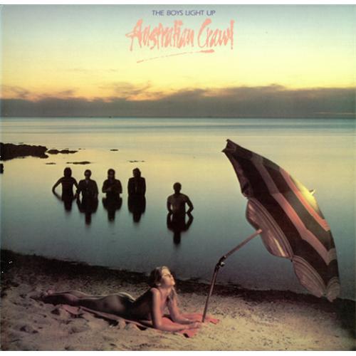 Australian Crawl The Boys Light Up vinyl LP album (LP record) Australian OZCLPTH423114