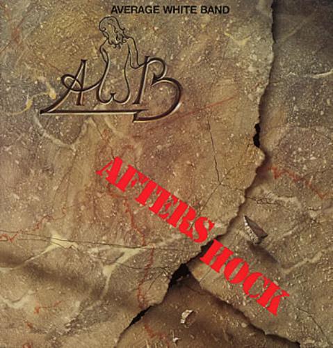 Average White Band Aftershock vinyl LP album (LP record) German AWBLPAF301645