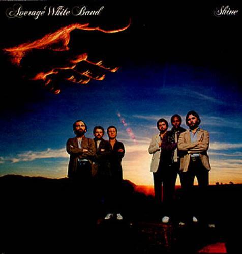 Average White Band Shine vinyl LP album (LP record) UK AWBLPSH314041