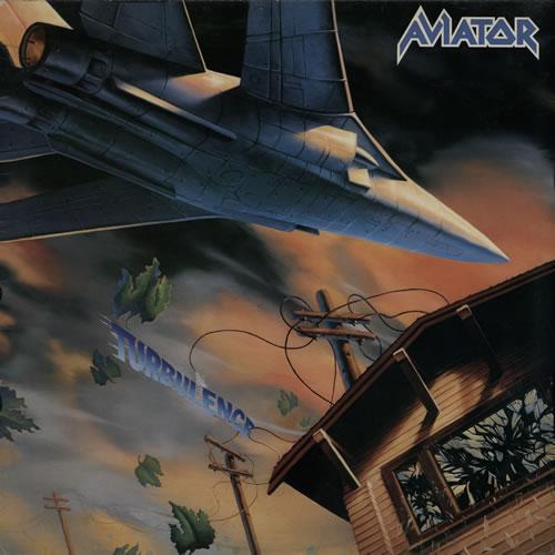 Aviator Turbulence vinyl LP album (LP record) UK A78LPTU579082