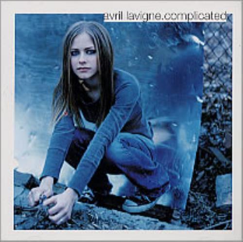 "Avril Lavigne Complicated CD single (CD5 / 5"") US AVVC5CO220376"
