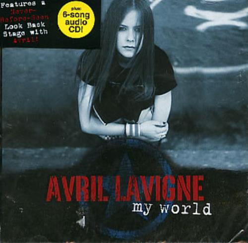 Avril Lavigne My World 3-CD album set (Triple CD) Thailand AVV3CMY296488