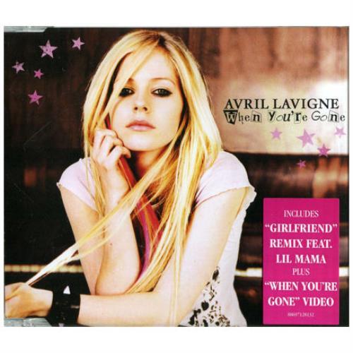 "Avril Lavigne When You're Gone CD single (CD5 / 5"") Australian AVVC5WH405589"
