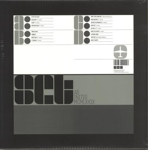 A Certain Ratio acr:set (The Best of ACR) - Green/Silver vinyl + Signed Print 2-LP vinyl record set (Double Album) UK CTR2LAC706218
